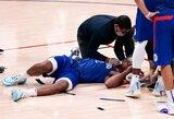 """K.Leonardas nebaigė rungtynių, bet """"Clippers"""" šventė pergalę"""