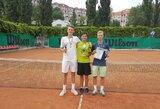 Vilniaus teniso akademijos sportininkams – 4 titulai tarptautiniame jaunių turnyre Ukrainoje