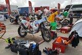 B.Bardauskas penktąjį Dakaro ralio etapą prisimins kaip akmenų košmarą, privertusį imtis net kūrybos