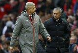 """J.Mourinho ir vėl įgėlė A.Wengerui: """"Kai kurie treneriai 10 ar 20 metų ruošia klubus nesėkmei"""""""
