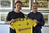 """Oficialu: """"Borussia"""" pasiekė susitarimą dėl gynėjo N.Schulzo"""