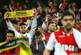 """Dėl perkeltų rungtynių Dortmundo gyventojai siūlo nakvynę """"Monaco"""" fanams"""