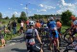 Atnaujintos tarptautinės dviračių lenktynės: civilis rėžėsi į automobilį, J.Beniušis finišavo 9-as