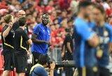 """Apie Italiją svajojantis R.Lukaku neiškeliavo su """"Manchester United"""" į Oslą"""
