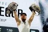 Kas taps kitu C.McGregoro varžovu? Garsiausi MMA žurnalistai pateikė savo verdiktus