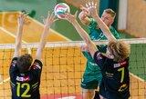 Lietuvos tinklinio čempionate – galingas A.Mišeikio pasirodymas ir šiauliečių pergalė