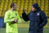 """""""Trakų"""" LEP treneris A.Rybakas: """"Nemanau, kad rungtynės su """"Žalgiriu"""" bus vienodos"""""""