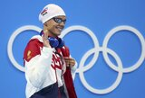 L.King krito olimpiados pusfinalyje, J.Jefimova kovos dėl dar vieno medalio