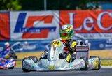 Europos kartingo čempionate – geriausias lietuvio rezultatas istorijoje