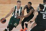 """""""Panathinaikos"""" atsisakė dalyvauti Gomelskio turnyre Maskvoje ir ilgiau liks Lietuvoje"""