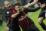 """Saldus triumfas: """"Milan"""" po beveik ketverių metų nugalėjo """"Juventus"""" klubą"""