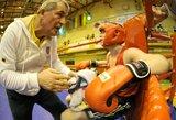 """Legendinis bokso treneris V.Murauskas: """"Svajoju treniruoti savo anūkėlį"""""""