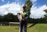 Nepaliauja stebinti: 15-metė Lietuvos šaulė aplenkė pasaulio čempioną