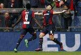"""D.Simeone sūnus pribloškė """"Juventus"""" klubą, sužaidusį prasčiausią kėlinį per dešimtmetį"""