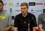 """D.Adomaitis: """"Tiek prieš 19 metų, tiek dabar """"Žalgirio"""" sėkmės istorija – treneris"""""""