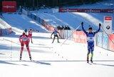 Pasaulio biatlono taurės etapą Slovėnijoje baigė K.Makarainen ir J.G.Beatrixo pergalės