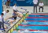 Europos žaidynėse Lietuvos plaukikai dėl aukštų vietų nekovojo