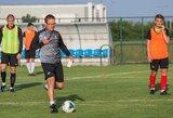 """V.Dambrauskas: """"Esame ambicingi ir augame kaip komanda"""""""