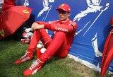 """Draugo žūties trasoje sukrėstas C.Leclercas: """"Mes kartu užaugome"""""""