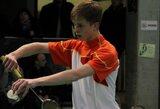 Badmintono turnyro Rygoje kvalifikaciją įveikė tik L.Sparnauskis