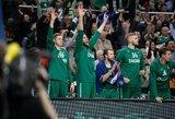 """""""Žalgiris"""" paskutines Eurolygos reguliariojo sezono rungtynes žais sausakimšoje arenoje"""