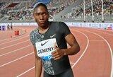 Paskutinis startas? Sporto arbitražo teisme pralaimėjusi C.Semenya Dohoje pagerino rekordą