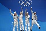 Vokiečiai ir norvegai olimpinėje medalių įskaitoje tęsia kovą dėl pirmos vietos, olandai pavijo amerikiečius