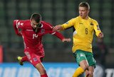 "Lietuvos futbolo rinktinėje debiutavęs: J.Marazas: ""Noriu kilti dar aukščiau"""