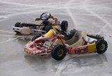 Ledos trasos paklūsta profesionaliems lenktynininkams