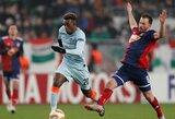 """Paskutinėse UEFA Europos lygos grupės rungtynėse: """"Chelsea"""" lygiosios ir """"Eintracht"""" pergalė prieš """"Lazio"""""""