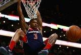 """NBA savaitės geriausiųjų laurai – """"Wizards"""" ir """"Clippers"""" gynėjams"""