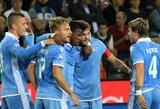 """Dvikovoje tarp """"Fiorentina"""" ir """"Lazio"""" komandų dvi raudonos kortos ir įvarčių lietus"""