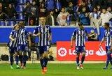 """""""La Liga"""" autsaiderių mūšyje - """"Alaves"""" triumfas"""