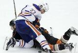 """""""Oilers"""" į Edmontoną sugrįžta antrą kartą įveikę """"Ducks"""""""