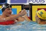 Pasaulio plaukimo čempionate Turkijoje pasiektas dar vienas pirmenybių rekordas