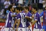 """""""Sevilla"""" neatsilaikė prieš """"Valladolid"""" futbolininkus"""