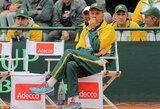 """PAR teniso rinktinės kapitonas rado pasiteisinimą: """"Lietuviams padėjo prastos oro sąlygos"""""""