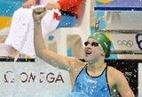 Vaikų olimpiados ambasadorė R.Meilutytė apie pirmą medalį: tai buvo kaip sapnas