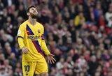 """""""Manchester City"""" laukia galimybės: šią vasarą gali pasiūlyti sutartį L.Messi"""