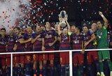 """""""Super"""" rungtynės: neišnaudotos """"Sevilla"""" progos ir """"Barcelona"""" didvyriu tapęs Pedro"""