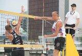 Favoritai užtikrintai žengė į Lietuvos paplūdimio tinklinio čempionato pusfinalius
