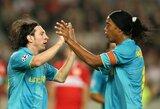 L.Messi artimieji neigia gandus: argentinietis nežada padėti Ronaldinho ištrūkti iš kalėjimo