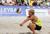 Abi lietuvių poros varžysis pasaulio jaunių paplūdimio tinklinio čempionato ketvirtfinalyje