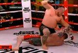 MMA kovoje Minske – greita skandalingojo M.Novosiolovo pergalė