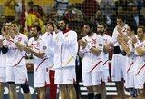 Pasaulio vyrų rankinio čempionato ketvirtfinaliuose žais tik Europos žemyno rinktinės