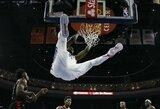 """J.Embiidui nieko nereiškianti pergalė: """"76ers"""" sutriuškino """"Raptors"""""""