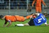 Atranka į Pasaulio čempionatą: Olandija neįveikė Estijos, Vokietija, Anglija ir Ispanija iškovojo pergales (+ kiti rezultatai)