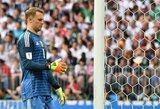 Estų sutrypimą stebėjęs M.Neueris tapo Vokietijos rinktinės rekordininku