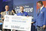 Pasaulio plaukimo taurės varžybose Olandijoje krito pirmasis planetos rekordas