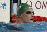 M.Sadauskas plaukimo varžybose Švedijoje užtikrintai pateko į finalą